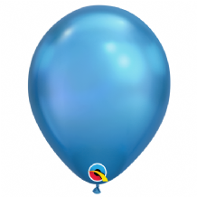 Chrome Balloons - Blue Chrome Balloons (100pcs) 11 Inch